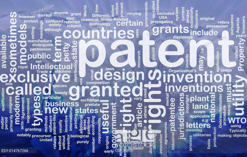 Patent background concept Stock Photo Picture And Low Budget 1049x669