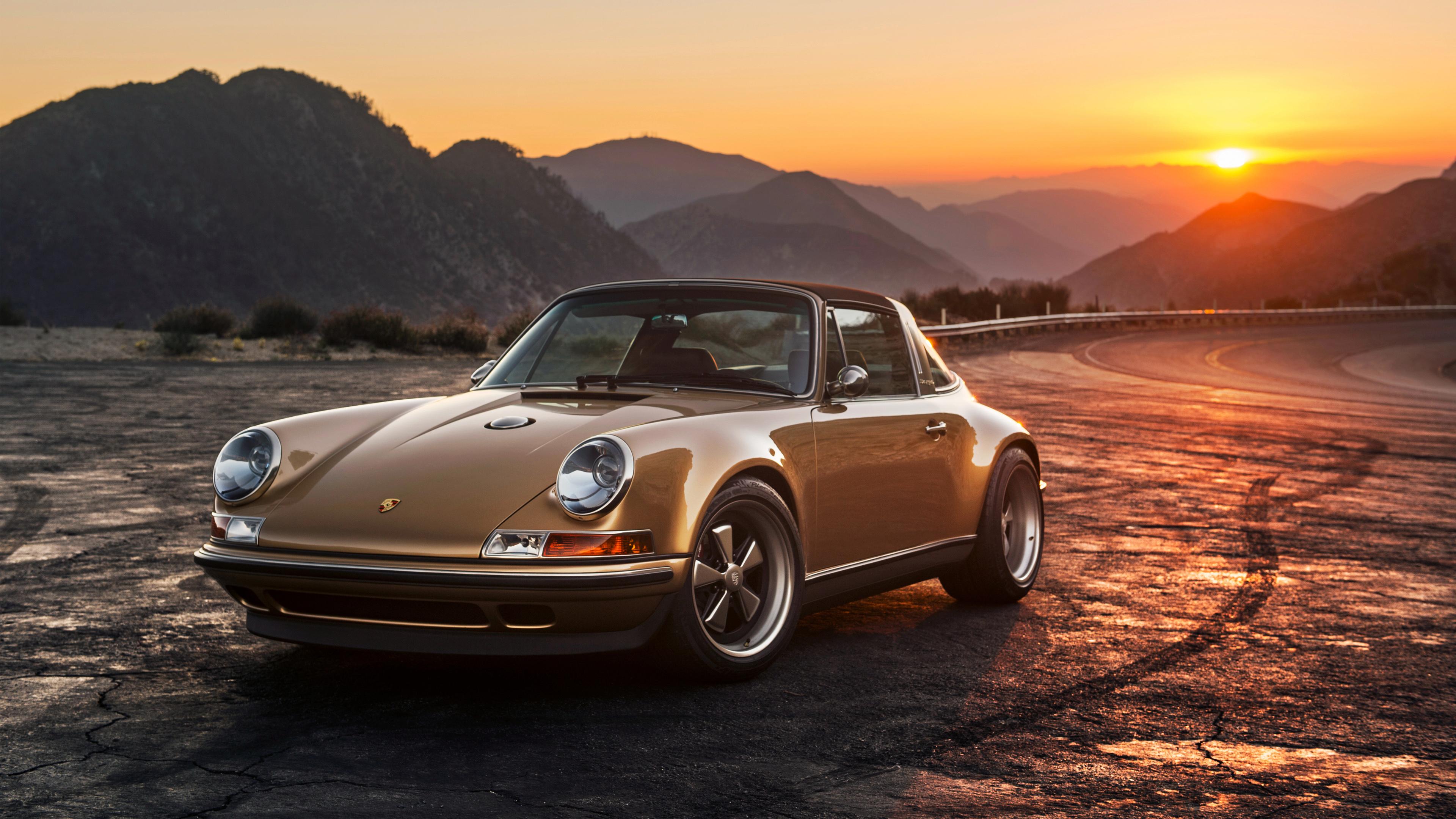2015 Singer Porsche 911 Targa Wallpaper HD Car Wallpapers 3840x2160