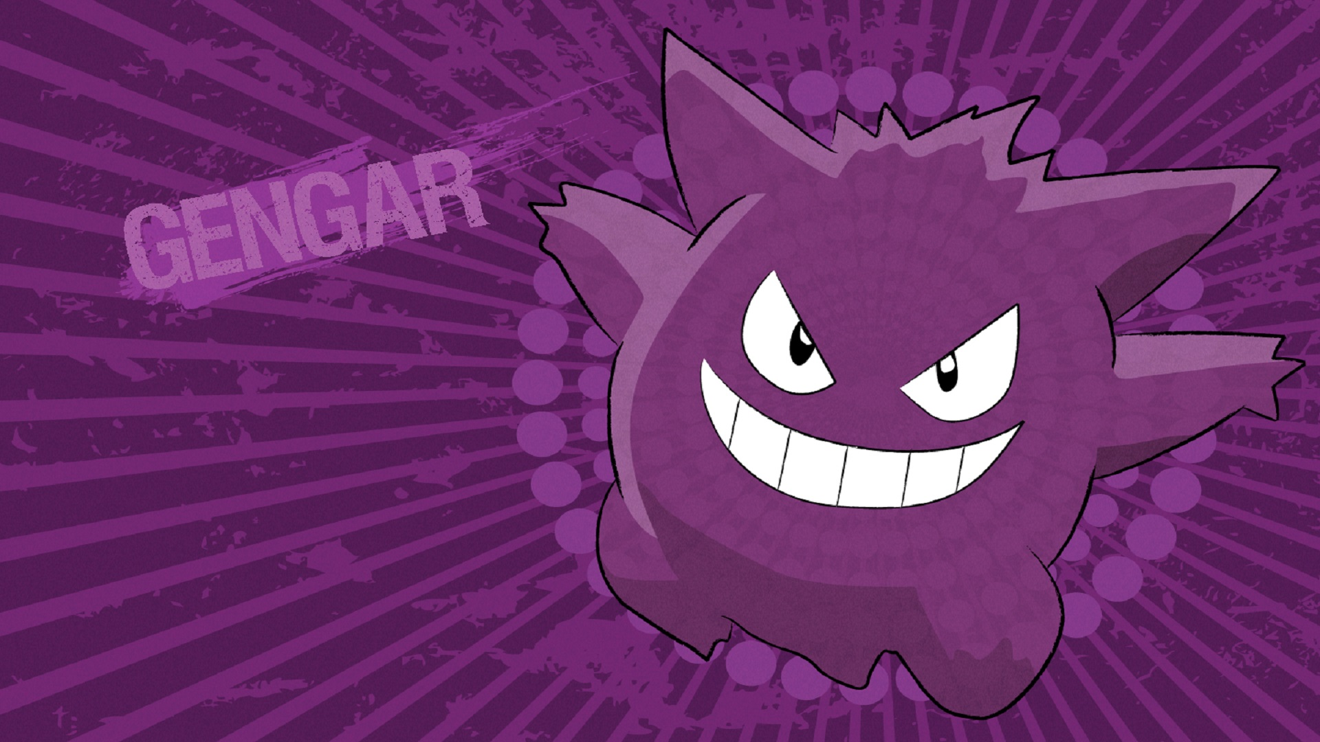 Gengar HD Wallpaper Download HD Wallpapers 1920x1080