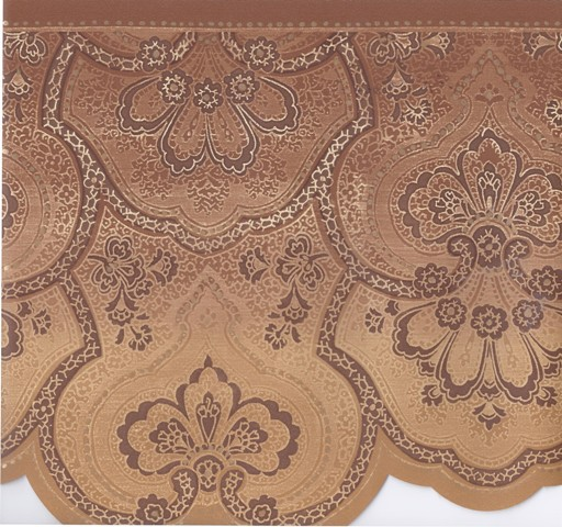 Brown Gold Beige Traditional Wallpaper Border   Victorian Vintage 512x480