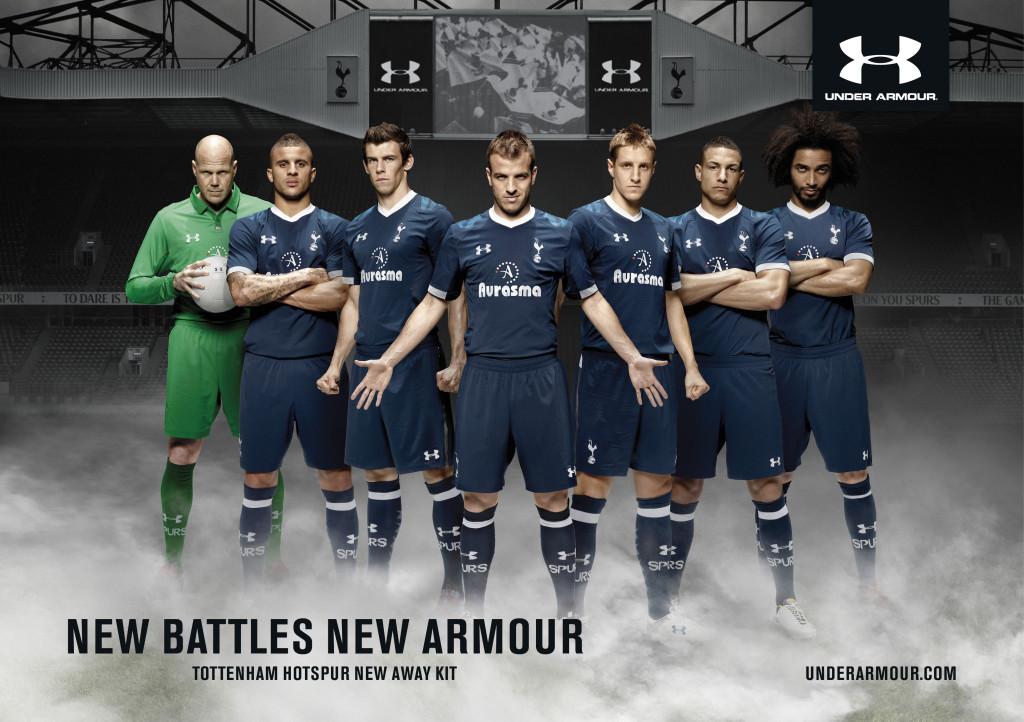 Download Tottenham Hotspur Under Armour Kit 2012 13 Wallpaper pictures 1024x722