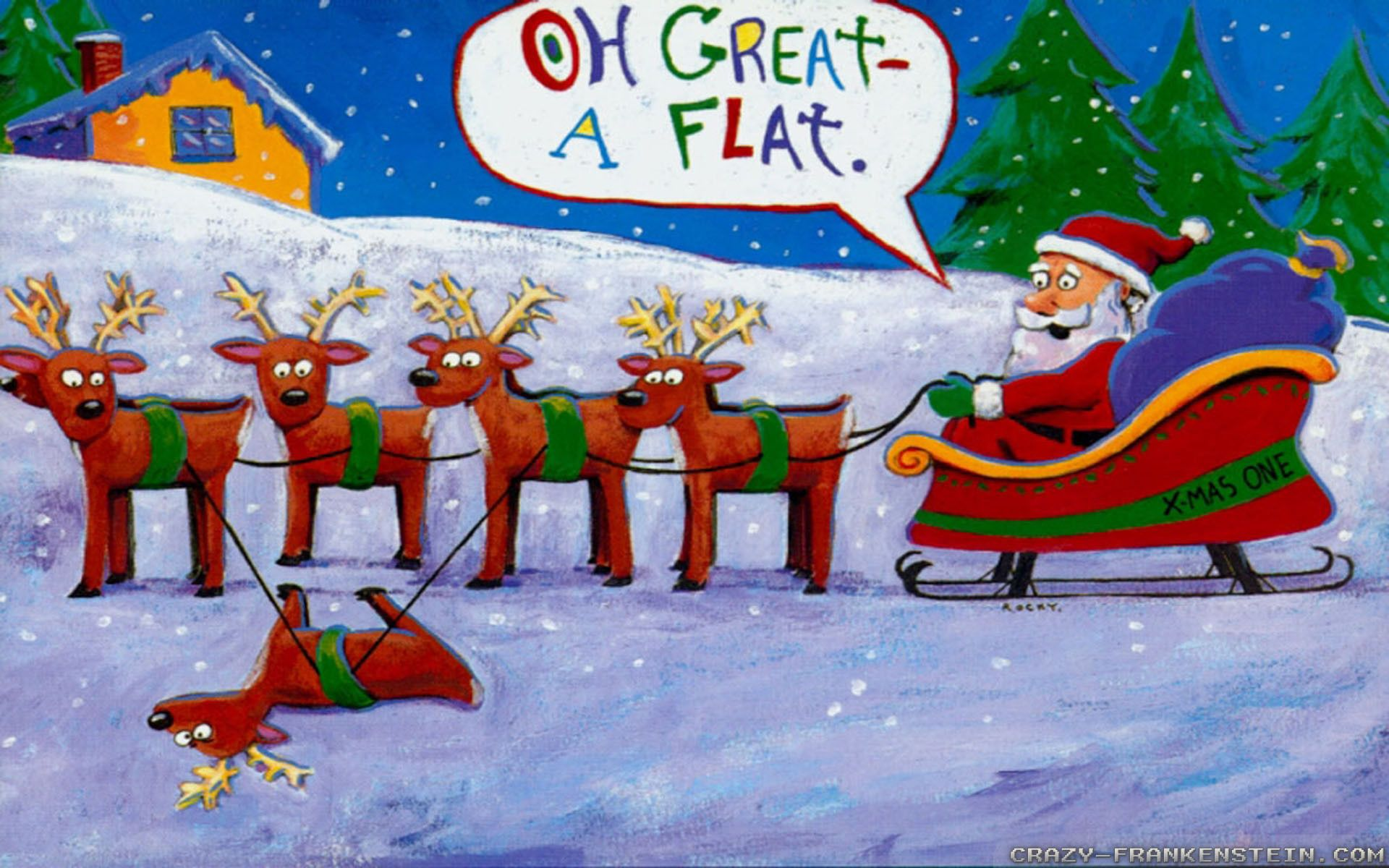 Funny Christmas Wallpapers   Top Funny Christmas Backgrounds 1920x1200