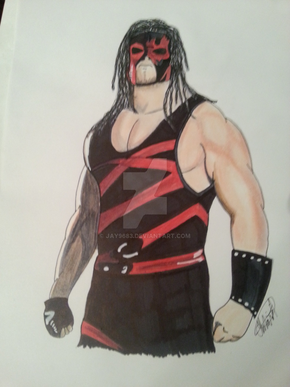 WWE Kane by jay9683 on DeviantArt