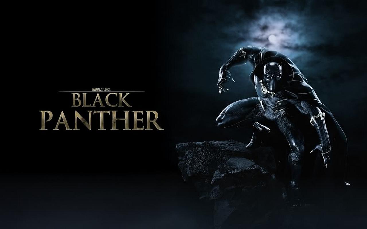 Black panther hintergrund
