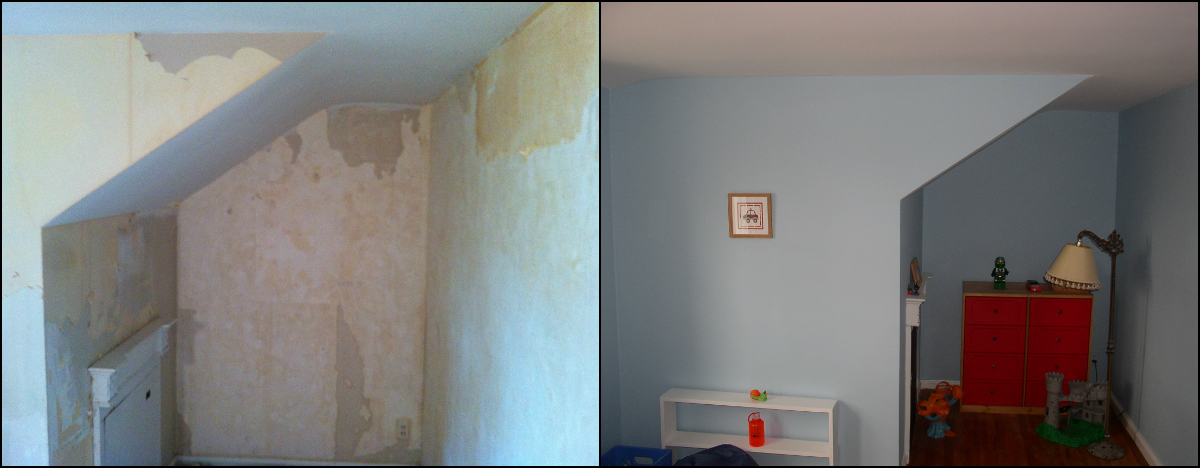 Interior Painting after Wallpaper Removal Morristown NJ 07960 1200x468