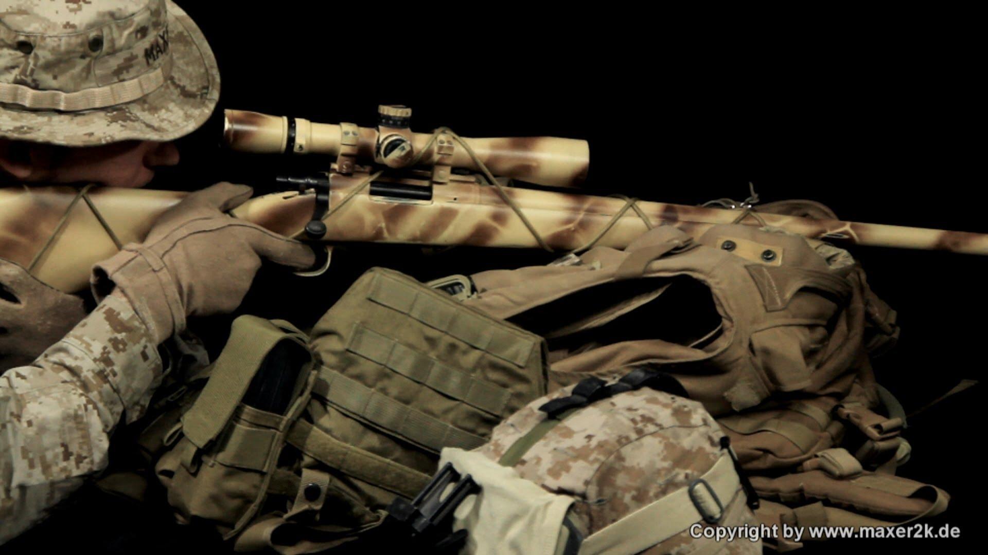 Usmc Sniper Wallpaper Wallpapersafari
