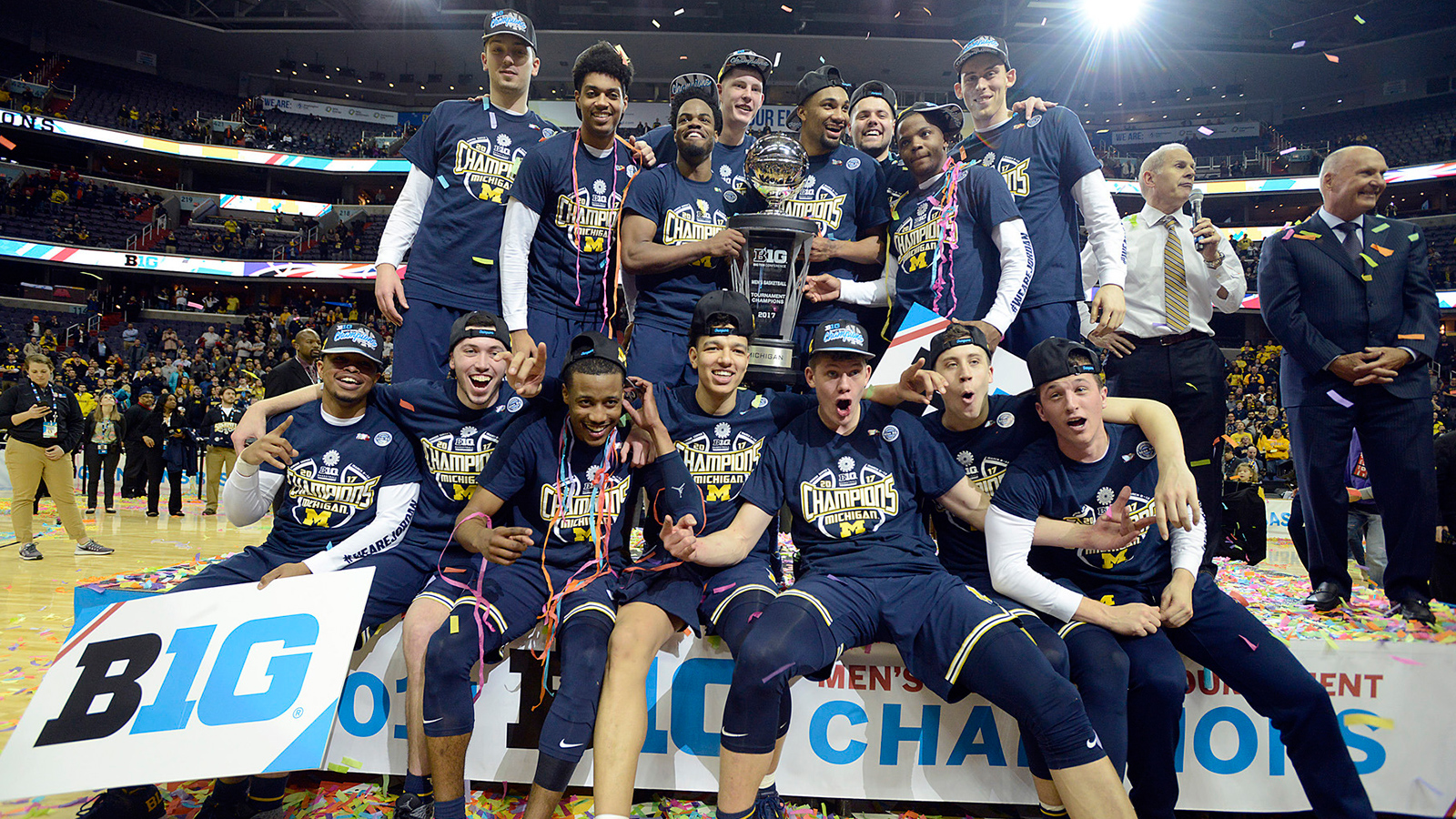 Season in Review 2016 17 Michigan Mens Basketball   University 1600x900
