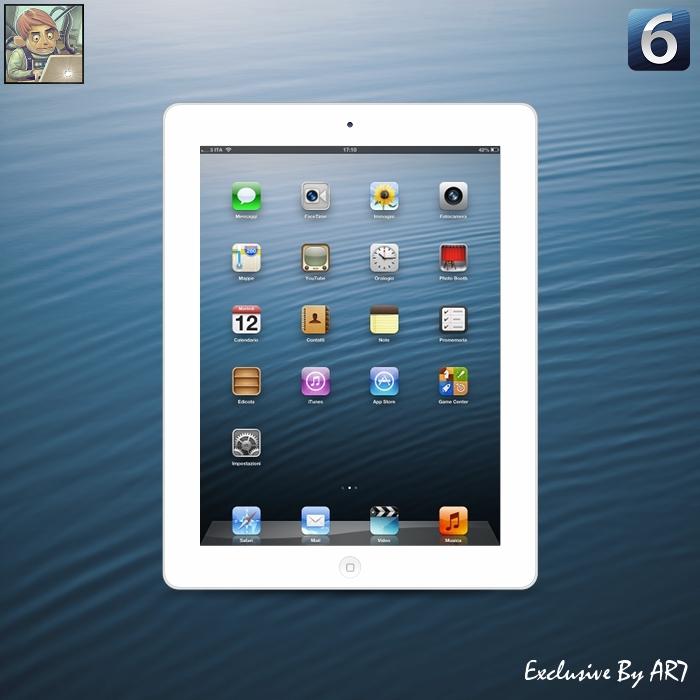 iOS 6 Wallpaper iPad Retina by iAR7 700x700