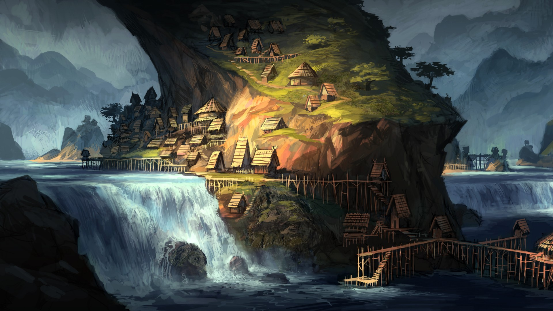 Stunning Hd Fantasy Gaming Desktop Wallpapers: Fantasy Wallpaper 1920x1080