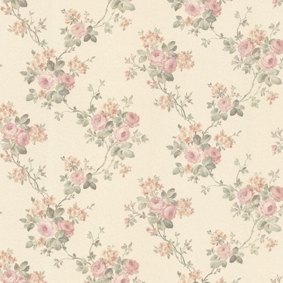 antique rose wallpaper wallpapersafari. Black Bedroom Furniture Sets. Home Design Ideas