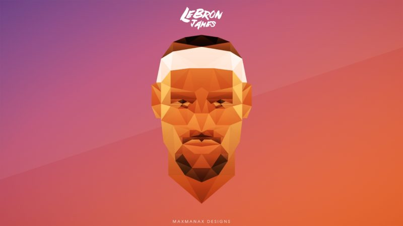 lebron james digital art wallpaper description download lebron james 800x450