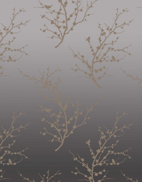 Tempaper Edie bronze wallpaper by Couture Deco 467x600