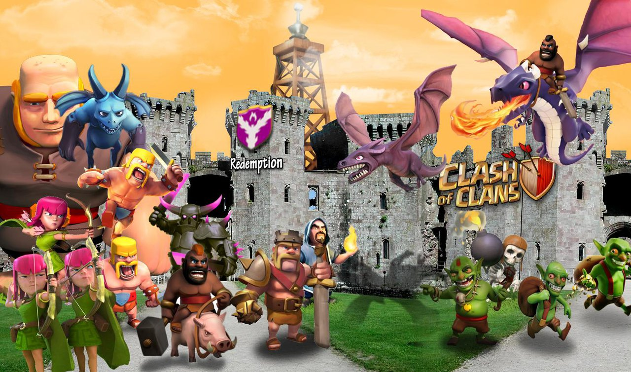 Clash Of Clans Characters Wizard newhairstylesformen2014com 1280x754