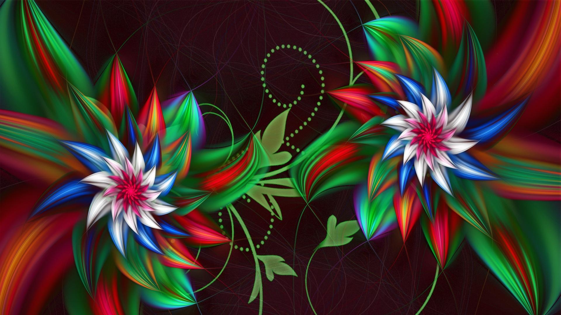43 full hd 3d wallpaper fractal on wallpapersafari