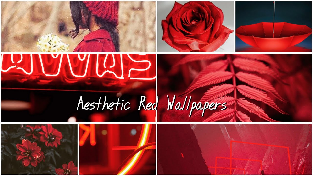 Aesthetic Red Wallpapers 1280x720