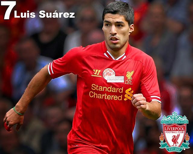 Luis Suarez Liverpool FC Wallpaper   Player Football Wallpaper 640x512