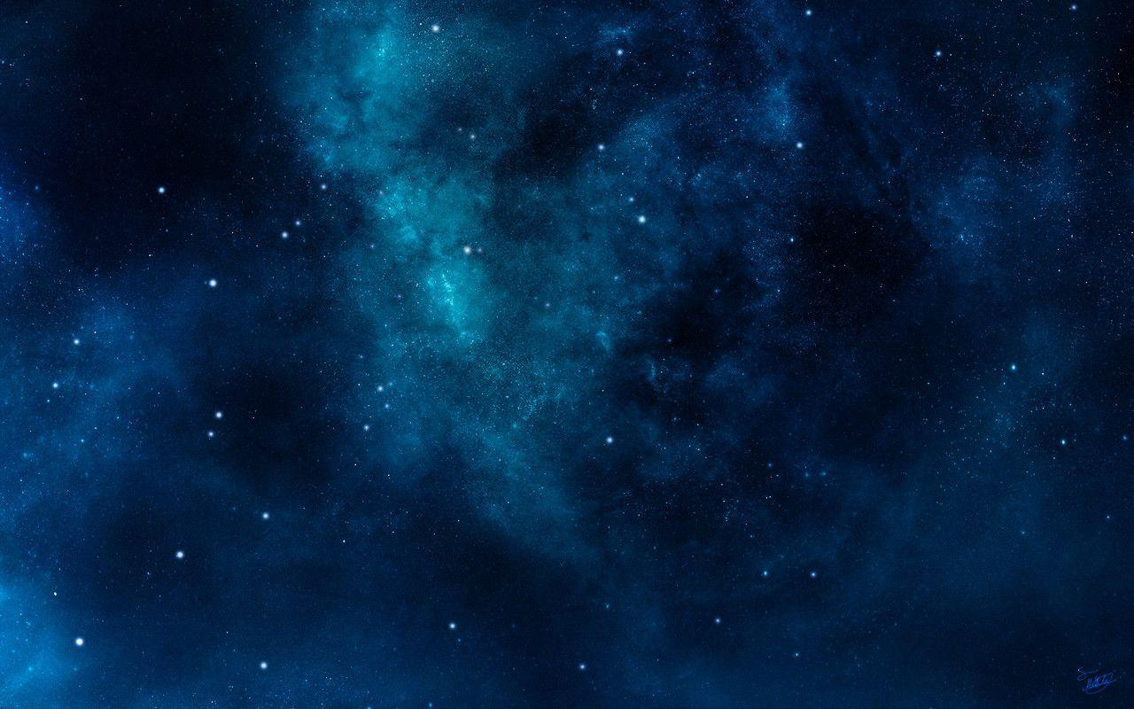 Blue Space Wallpapers 1280x800