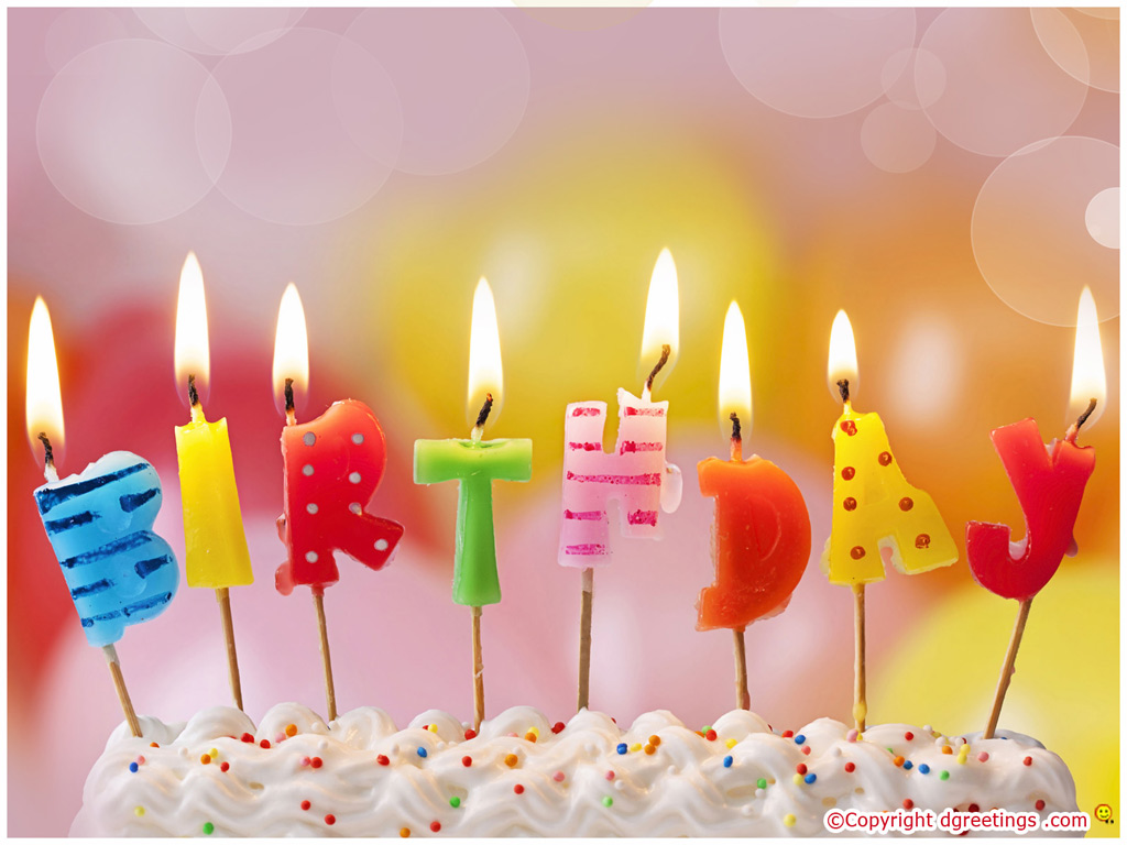 HD Birthday Wishes Wallpaper HD 1024x768