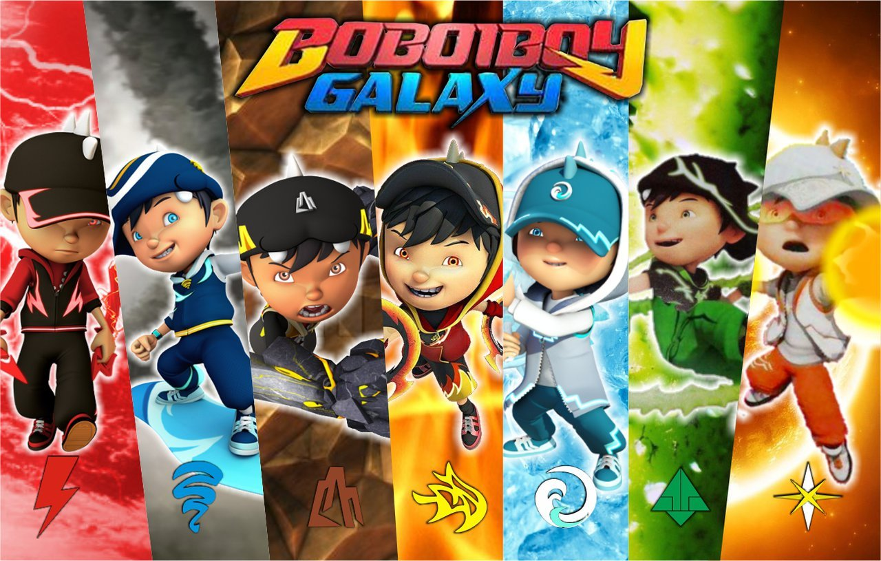 Boboiboy by VIANDRY 1280x815