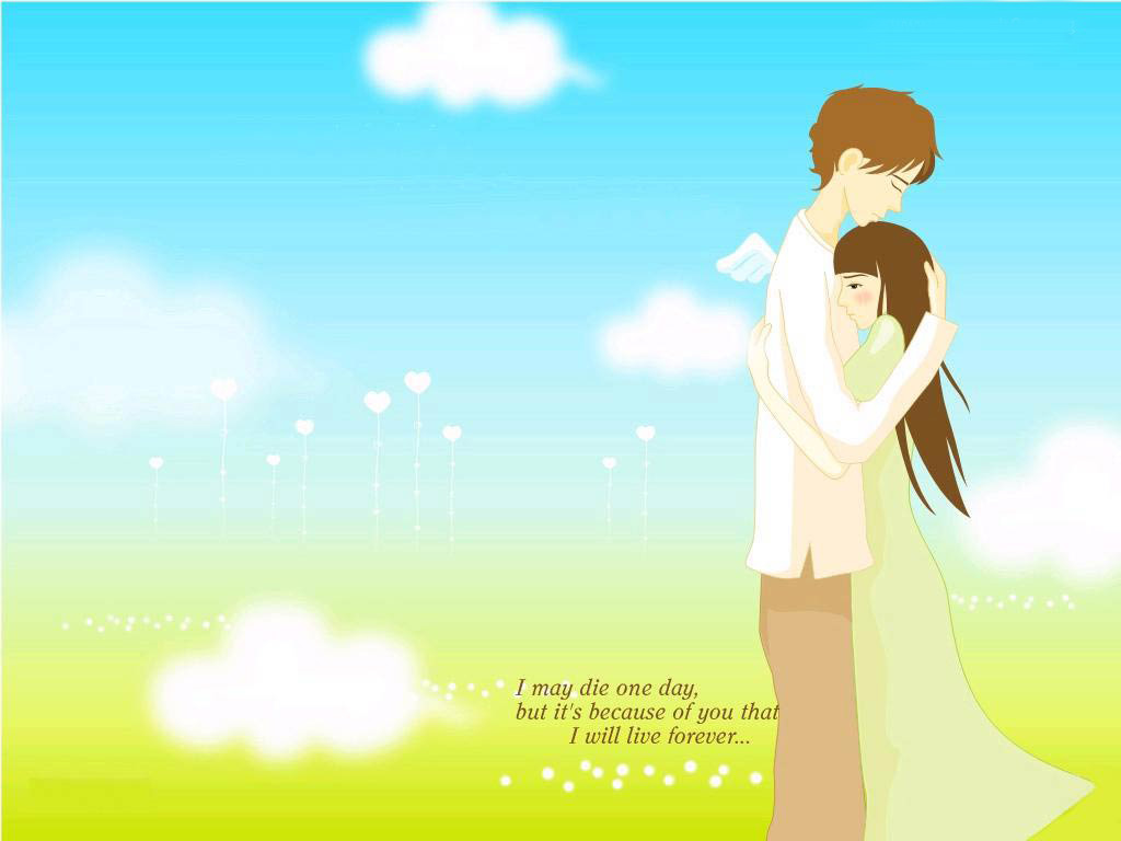 Cute Love Desktop Wallpapers 1024x768