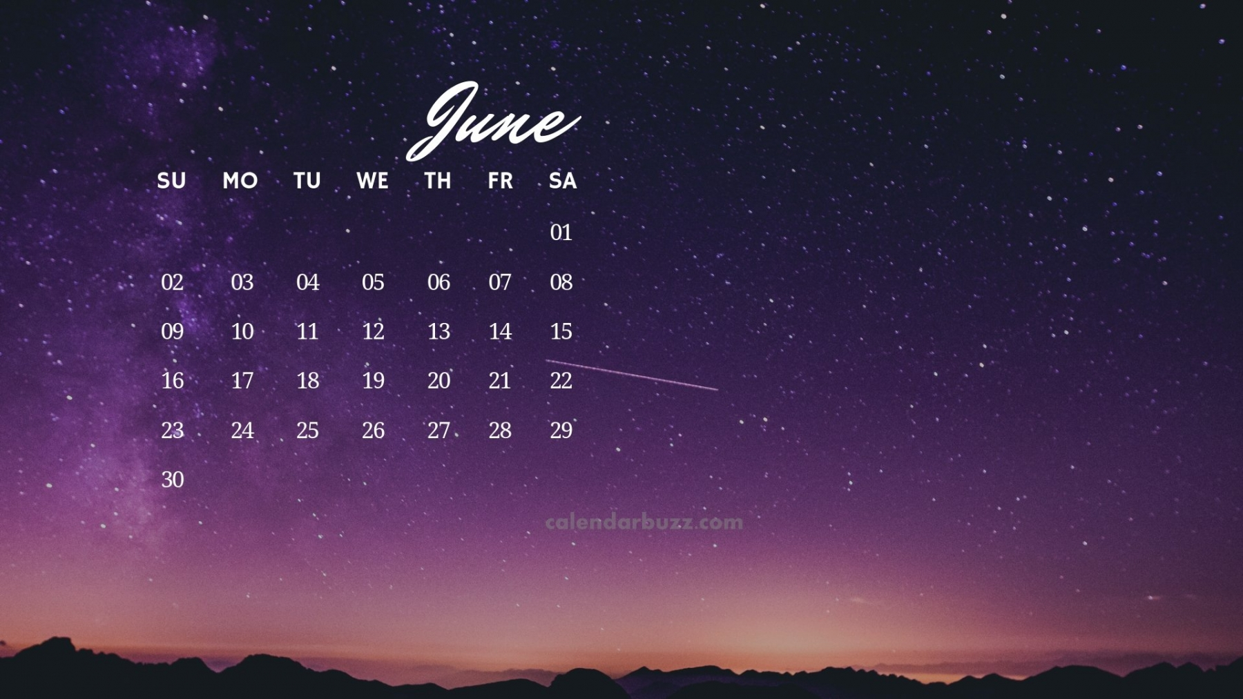June 2019 Calendar HD Wallpapers and Background Images YL Computing 1800x1013
