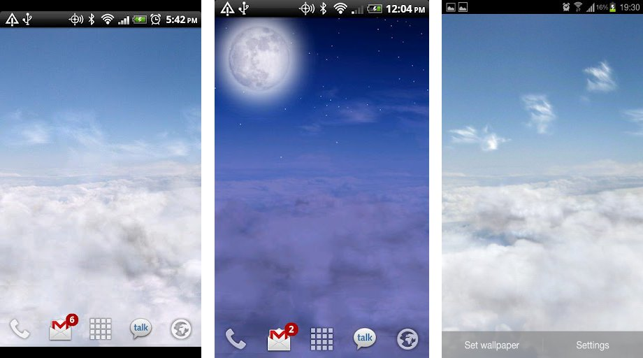 Live Wallpaper Android loopelecom