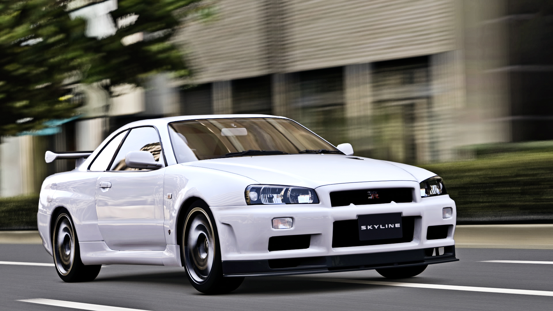 Free Download Nissan Skyline Gt R R34 1080p Wallpaper By