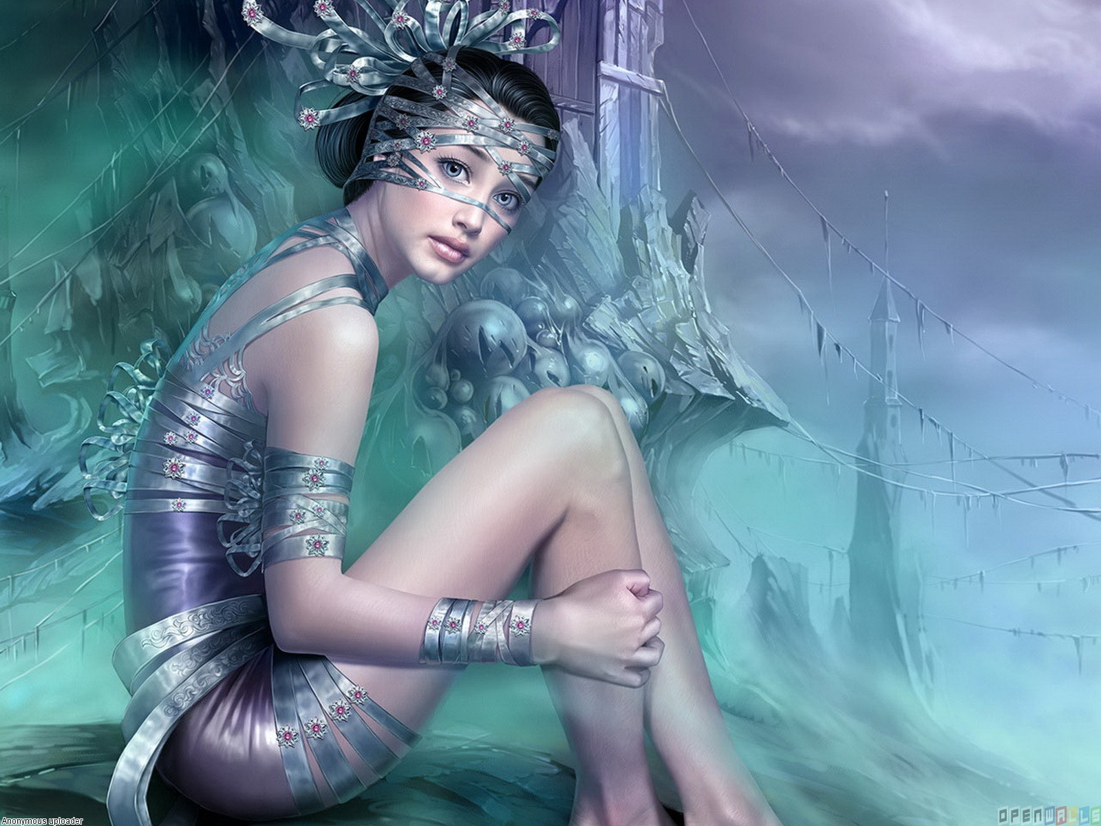 3D Fantasy Art Wallpapers Women - WallpaperSafari