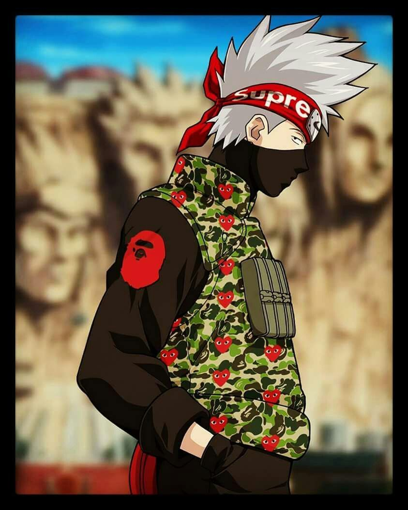 Kakashi Supreme Wallpaper 843x1052
