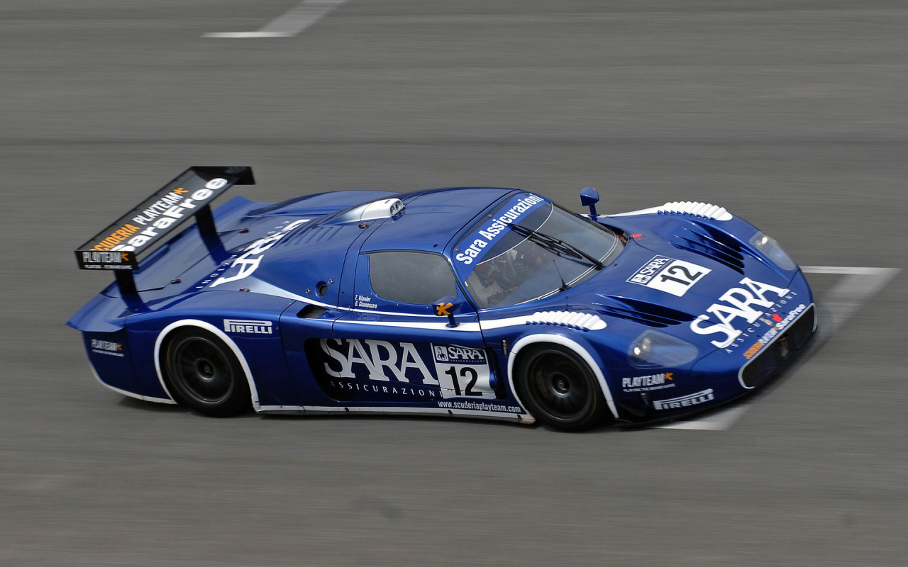 Maserati MC12 racing Widescreen and Full HD Wallpapers 1280x800