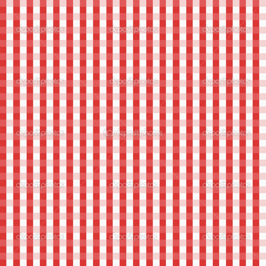 Photo Collection Red Gingham Wallpaper