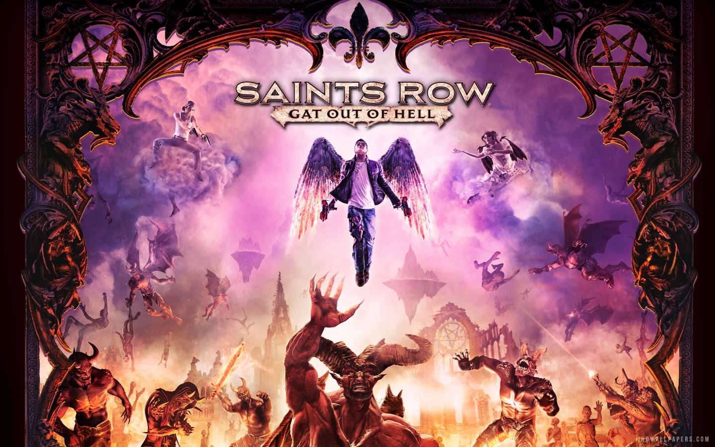 Saints Row 4 Wallpapers: Saints Row Wallpaper HD