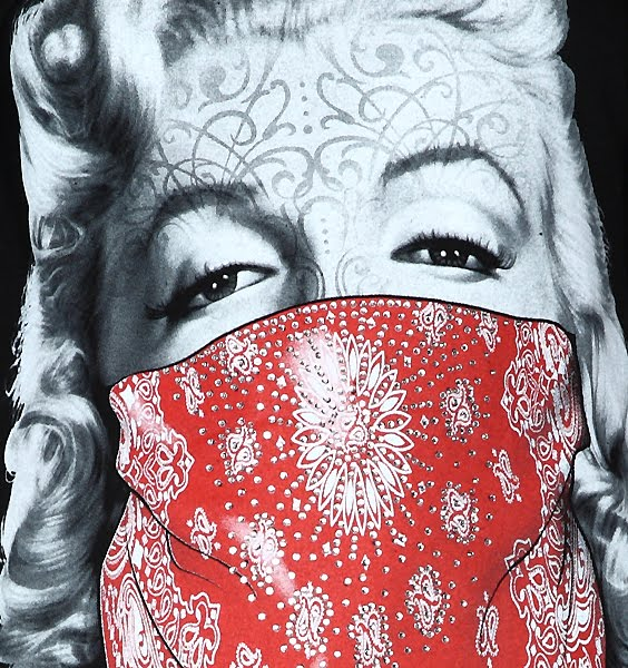 Gangsta Drawings With Guns Marilyn Monroe with Gu...