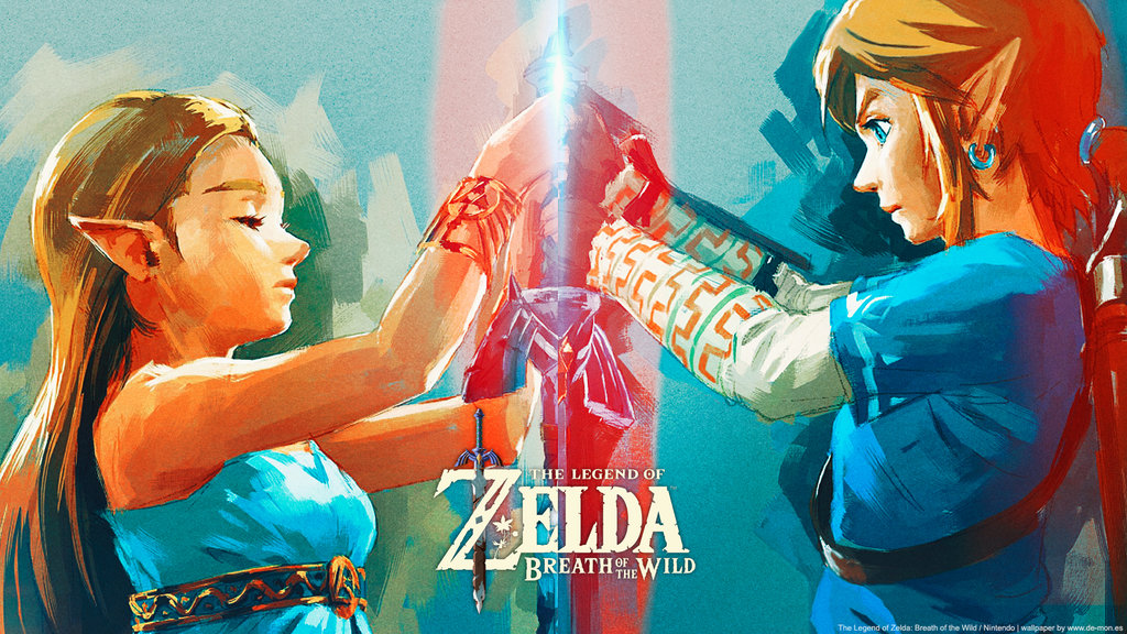 87 Legend Of Zelda Breath Of The Wild Wallpapers On