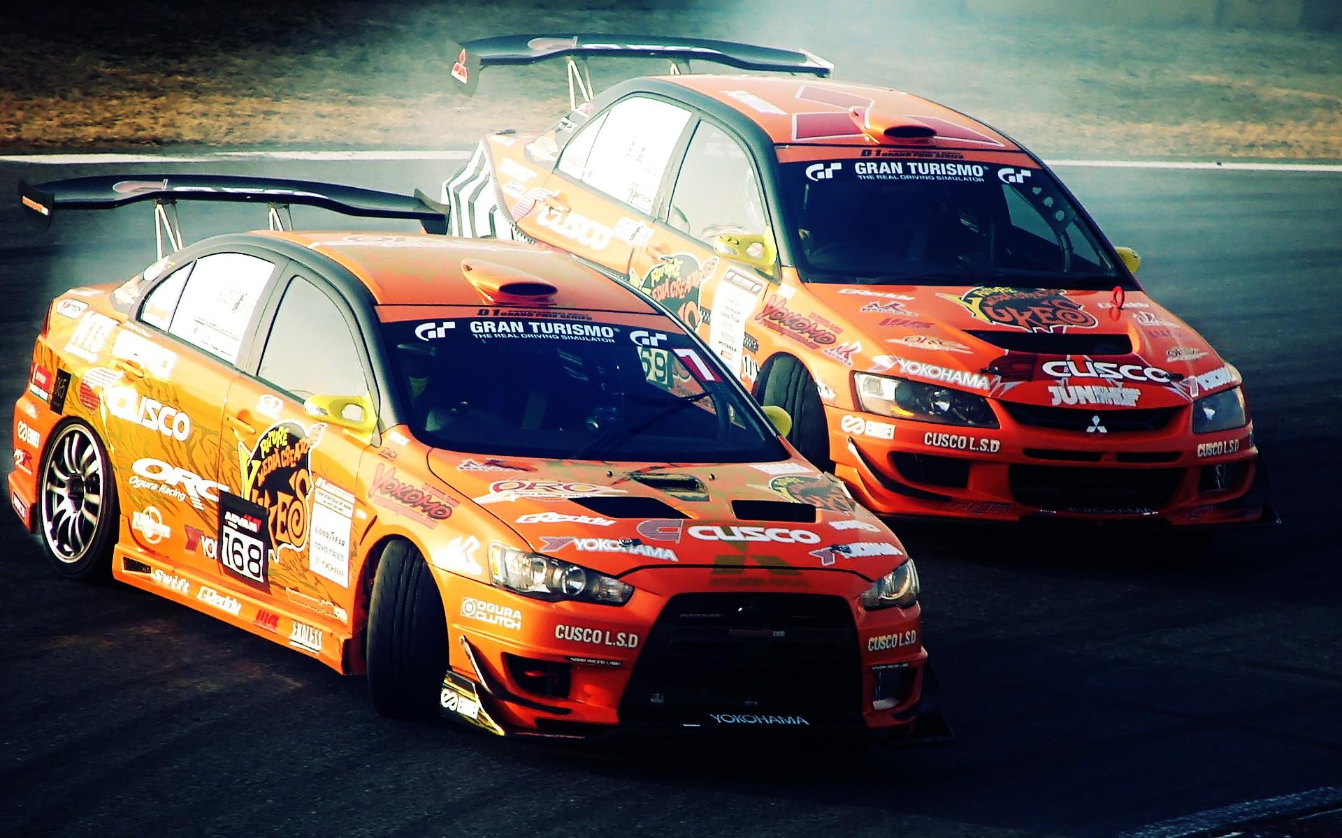 Cars Drifting Wallpaper 1920x1200 Cars Drifting Cars Mitsubishi 1920x1200