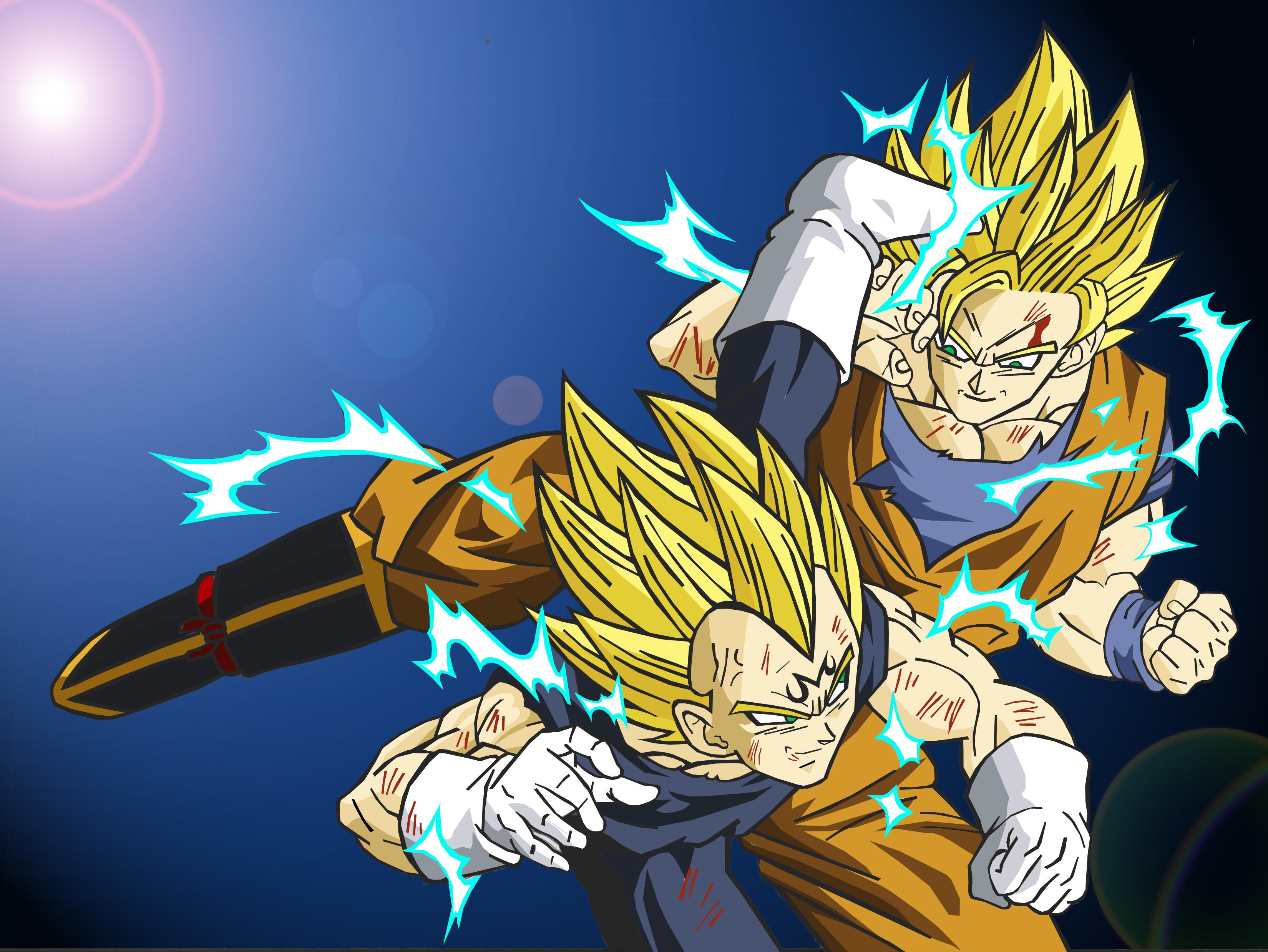 Imagenes De Goku Y Vegeta Car Tuning 3300x2478