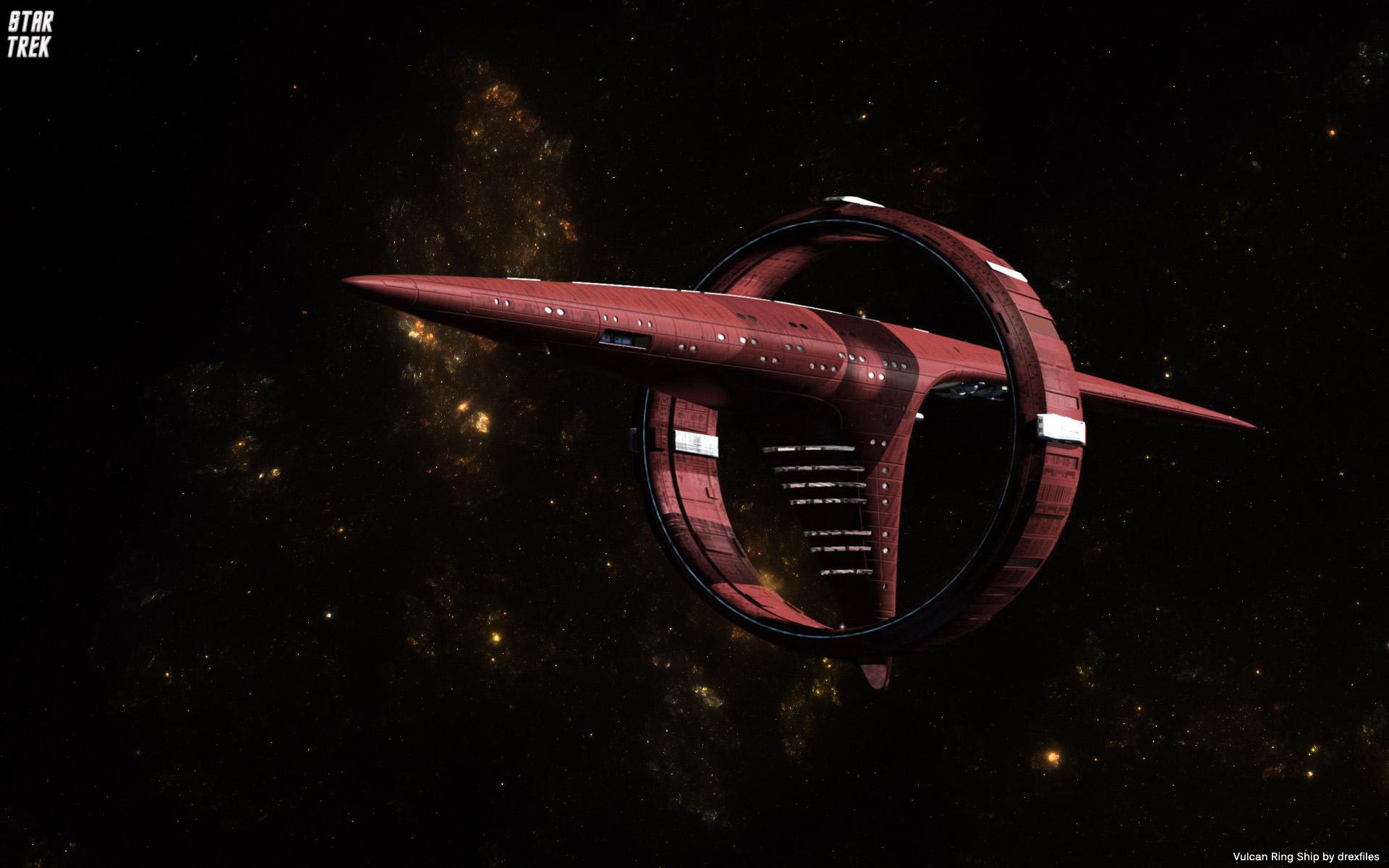 Star Trek Vulcan Ships wallpaper   910851 1920x1200