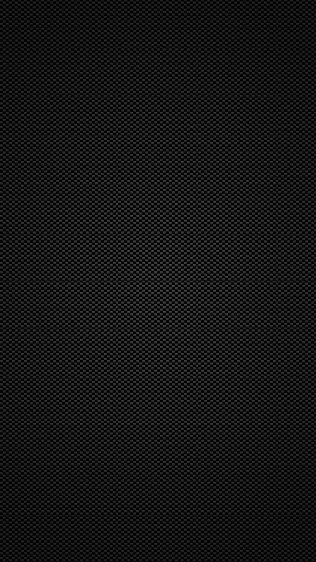 Black carbon fiber iPhone 5 Wallpaper 640x1136 640x1136