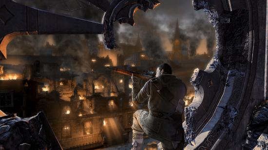 Tags Sniper Elite sniper elite v2 Wallpaper 550x309