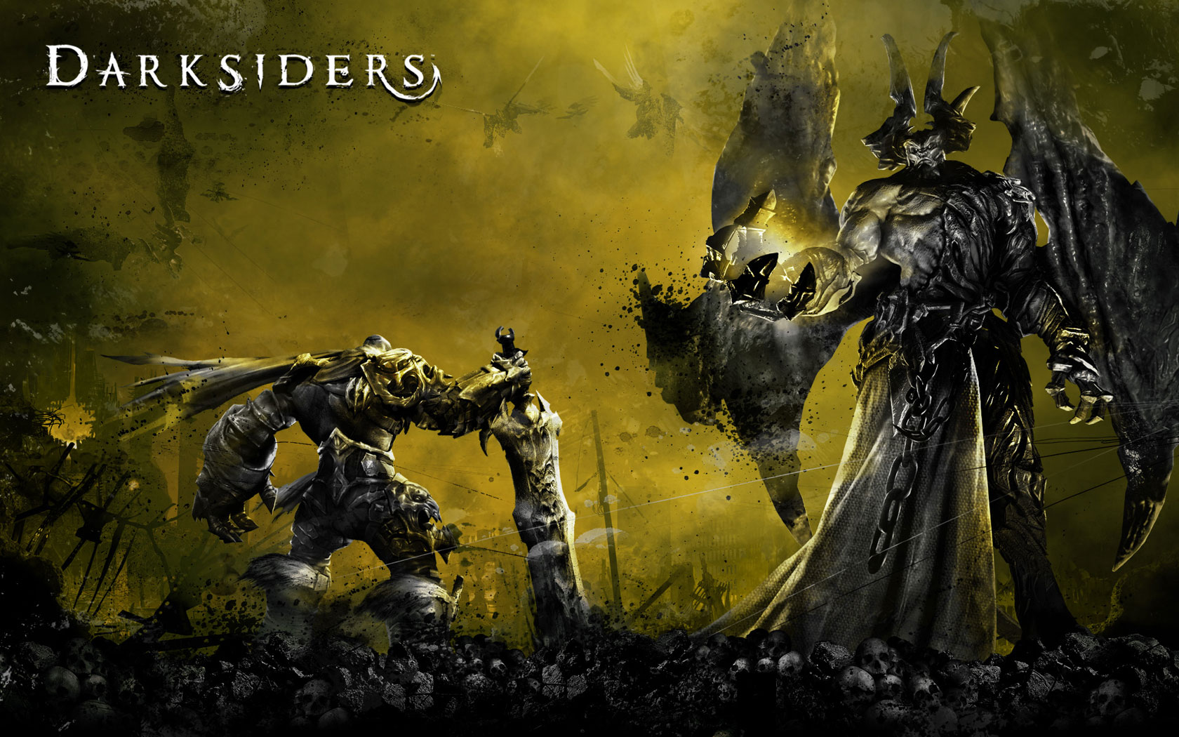 Pics Photos   Darksiders Wallpaper 1680x1050