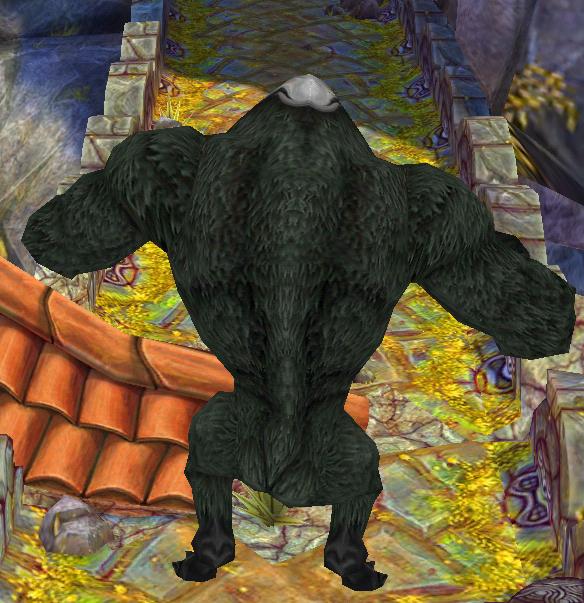 Temple Run Evil Demon Monkeys Wallpaper Evil monkey stand 584x603