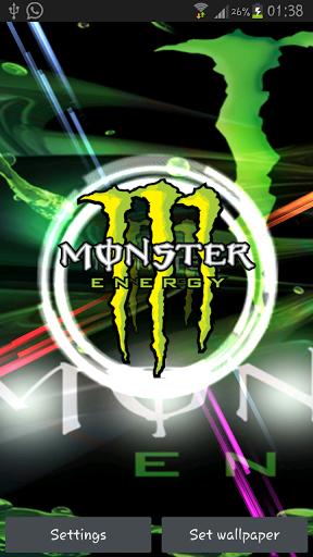 Monster Energy Live Wallpaper 288x512