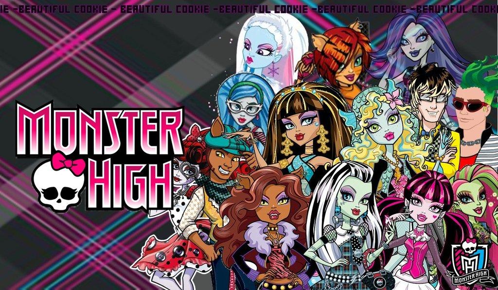 Monster High Wallpaper For Desktop Desktop Wallpaper Monster High 1280 1024x597