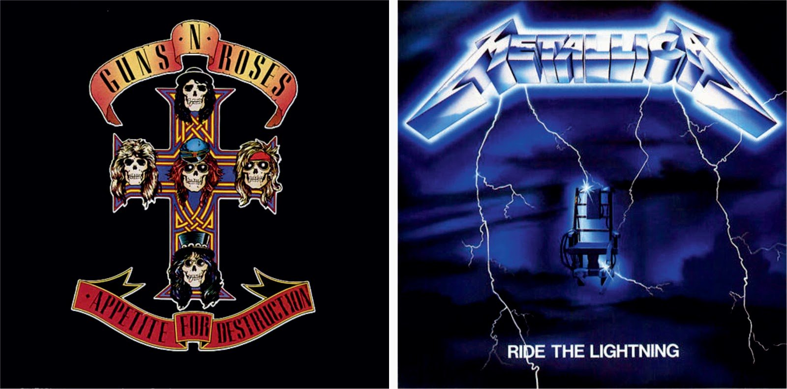 Metallica Ride the Lightning Wallpaper 1600x791