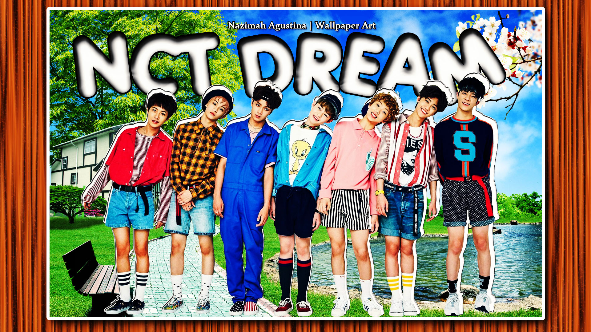 [Artwork] NCT Dream For Chewing Gum AgustiNazimah 1920x1080