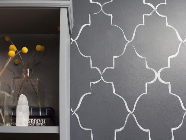 Bedroom and Kid Bedroom Minimalist Grey Wallpaper Wall Design Ideas 616x462