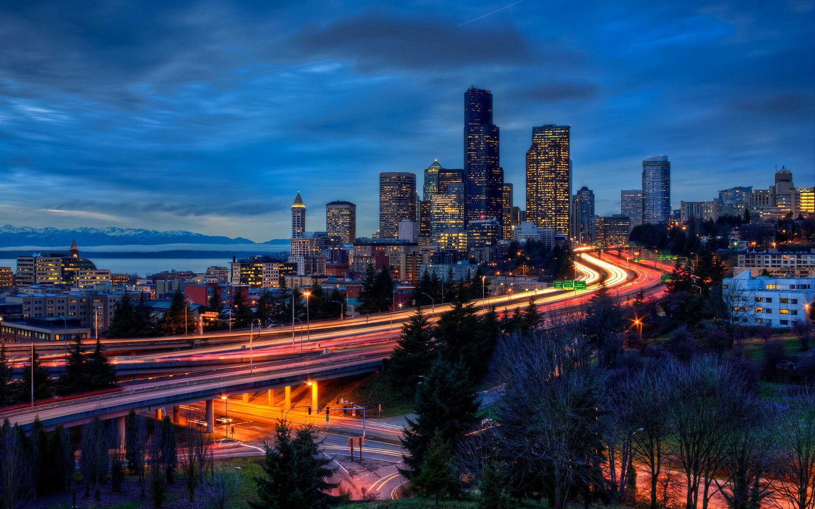 Seattle Wallpaper 25774 Hd Wallpapers Background   HDesktopscom 1680x1050