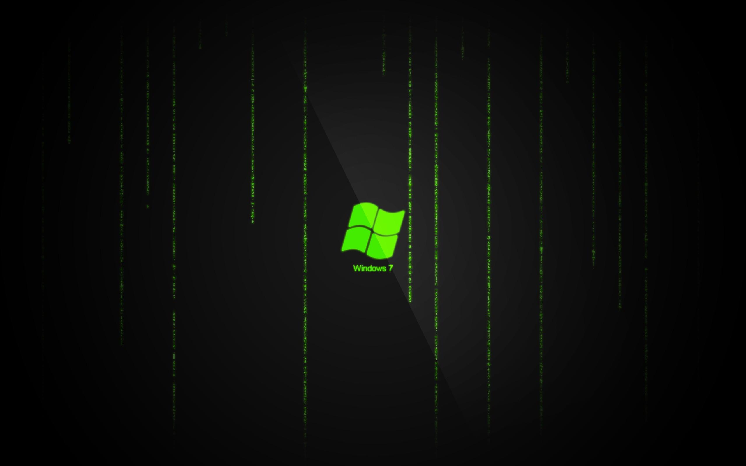 Source URL httpwwwwallpaper4mecomwallpaperWindows 7 Matrix 2560x1600