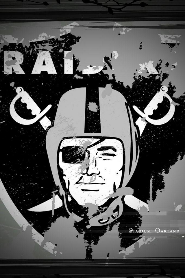 Oakland Raiders NFL   Download iPhoneiPod TouchAndroid Wallpapers 640x960