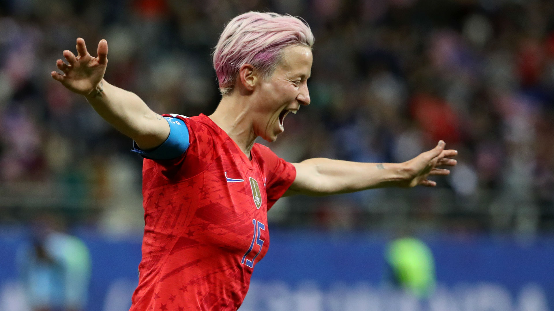 Womens World Cup 2019 USWNT star Megan Rapinoe responds to 1920x1080